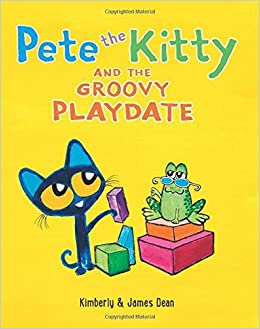 pete the kitty and the groovy playdate pete the cat james dean