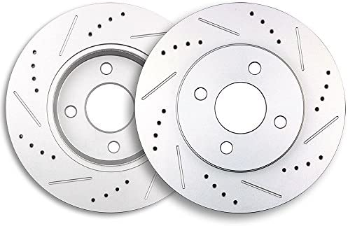 Fits Chevrolet Pontiac Saturn L4 Set 2 Front Disc Brake Rotors OPparts 40509083