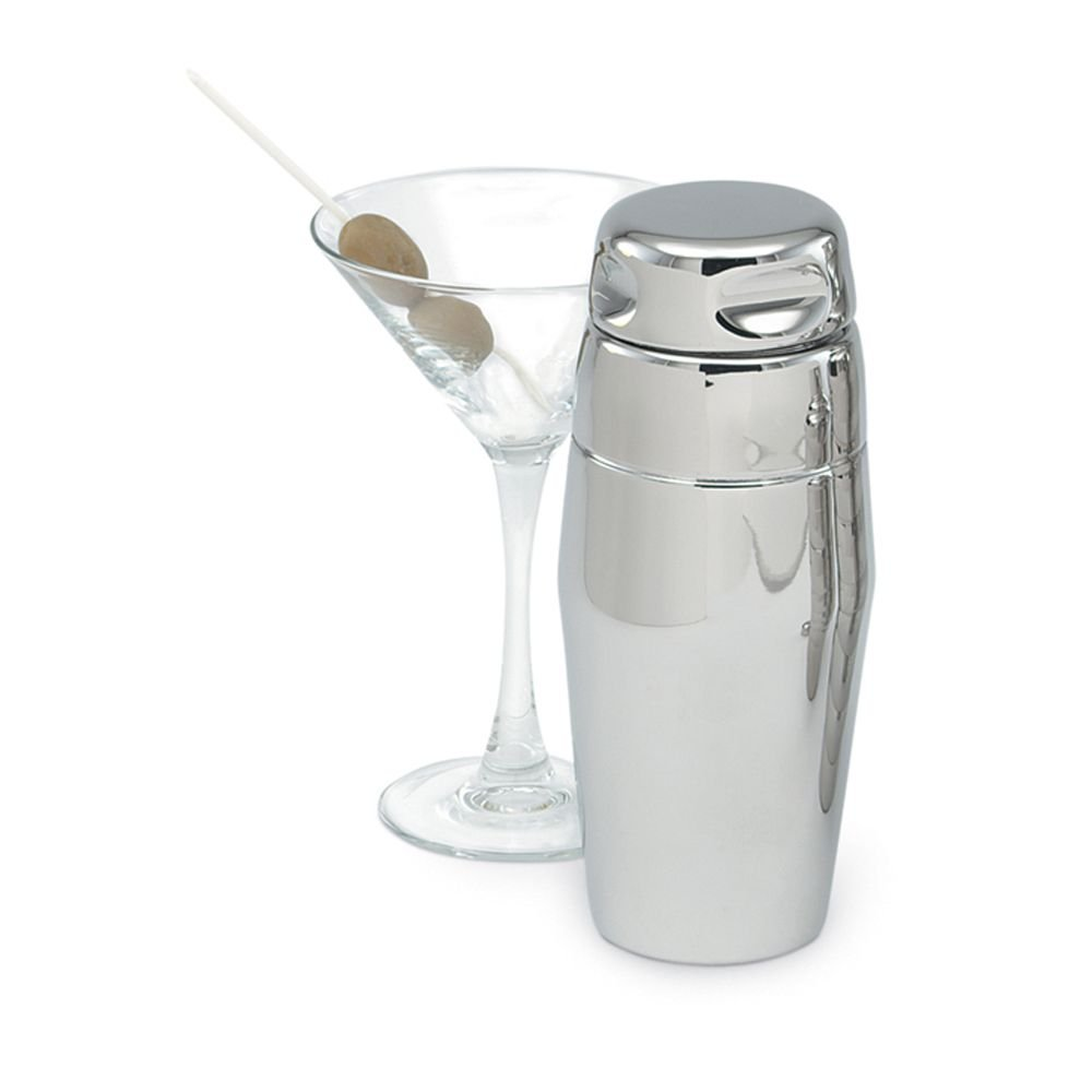 Vollrath 47622 3-Piece Mirror Finish 22 Ounce Cocktail Shaker Set