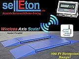 Selleton Industrial 60,000 Lb X 5 Lb Capacity Axle Truck Scale Wireless 300 Ft Range