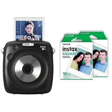 Fujifilm Instax Square SQ10 Hybrid Instant Camera (Black) Fujifilm Canada FBA_SQ10