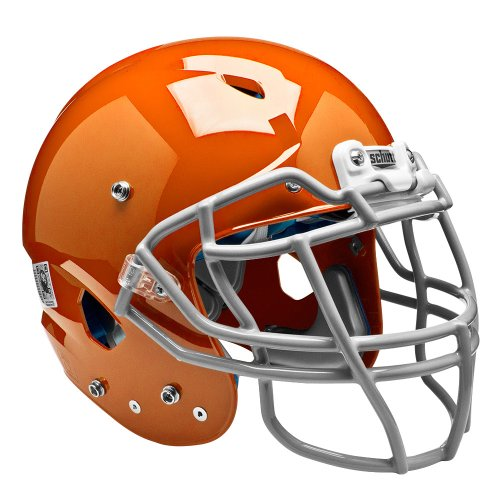 Schutt Sports Adult Vengeance DCT Football Helmet (Faceguard not Included), Burnt Orange, X-Large