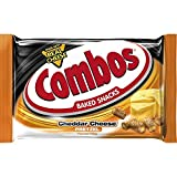 COMBOS Cheddar Cheese Pretzel Single Serve Baked Snacks 1.80-Ounce Bag 18-Count Box