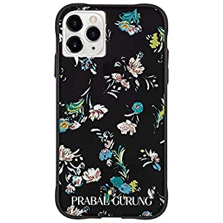 Case-Mate - iPhone 11 Pro Max Case - PRABAL GURUNG - Tough Black Floral - 6.5 - Black (CM041270)