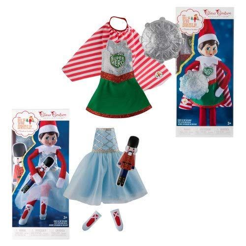 Elf on The Shelf Girl Clothes Set -