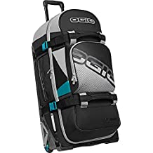 OGIO Rig 9800 Luggage, Red/Hub, Checked – Extra Large(Model: 121001.958)