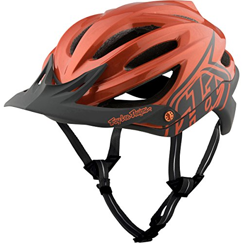 Troy Lee Designs A2 MIPS Helmet Decoy Orange/Gray, M/L Review