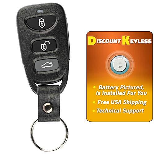 For 07-10 Hyundai Elantra 06-10 Sonata 2006.5 Kia Optima Keyless Entry Remote Key Fob OSLOKA-310T