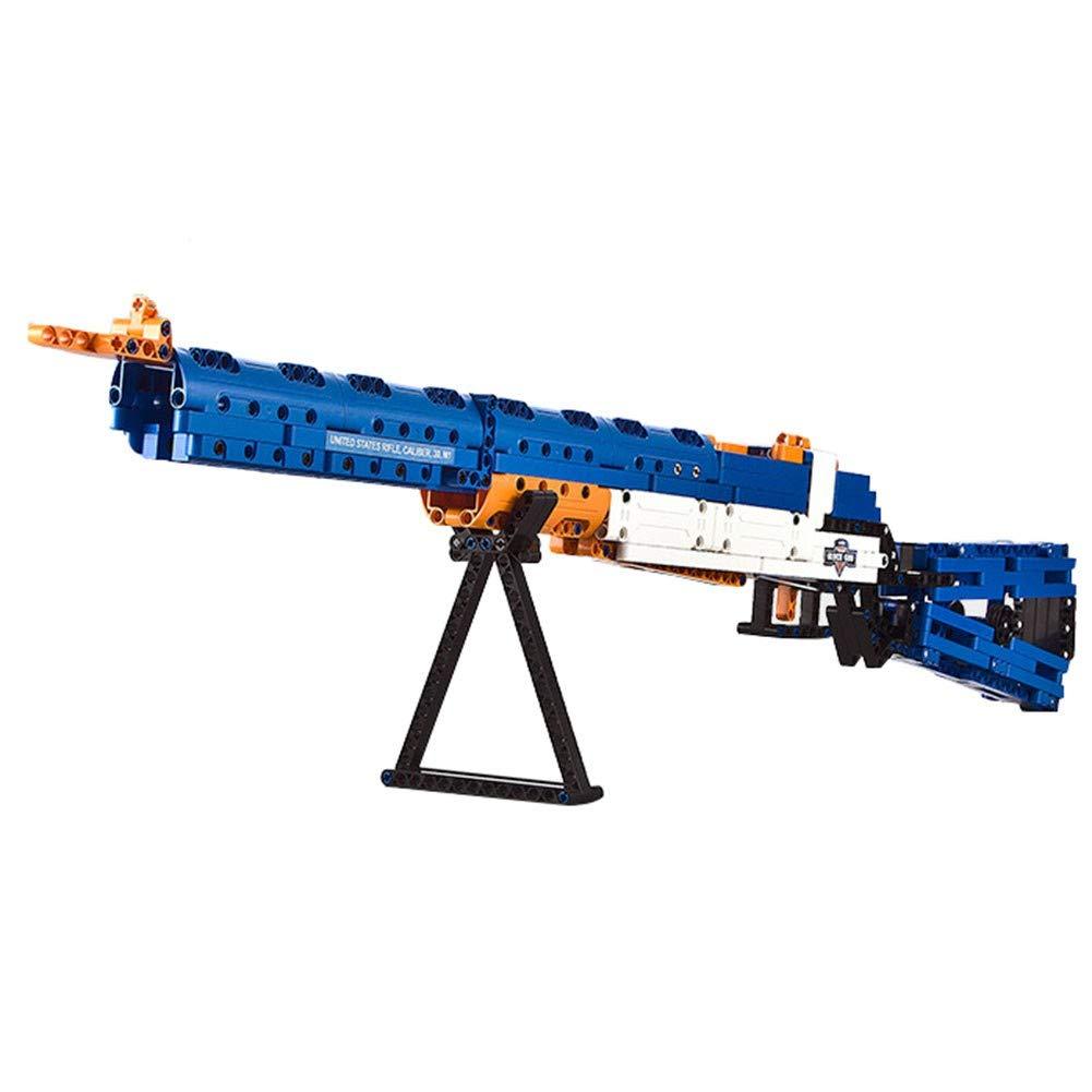 DINGX Pistolet à Jouets pour Enfants, Puzzle d'anniversaire 6-7-8-10 Ans Et Blocs De Construction pour Enfants Puzzle d'anniversaire 6-7-8-10 Ans Et Blocs De Construction pour Enfants