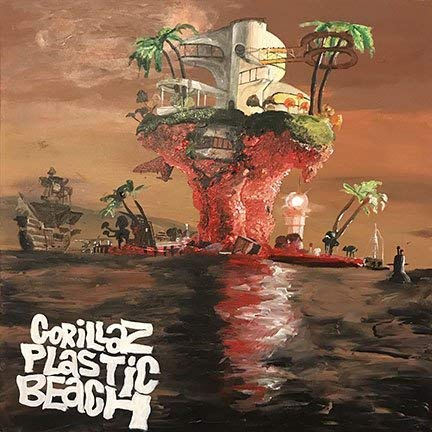 By King Of Wonder Album Cover Poster Thick Gorillaz: Plastic Beach 12x18 inch Rolled