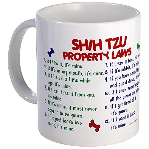 CafePress - Shih Tzu Property Laws 2 Mug - Unique Coffee Mug, Coffee Cup