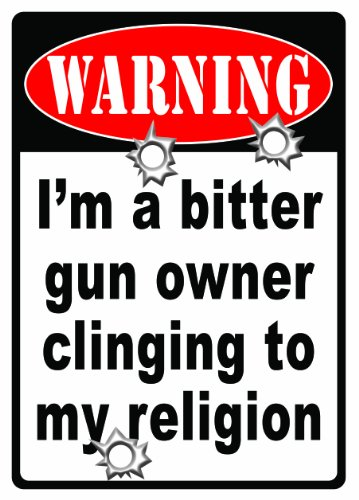 Rivers Edge Products Warning-Bitter Gun Owner Sign