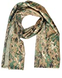 Generic Tactical Airsoft Hunting Scarf Face Veil Mask Multi Colors (digital woodland camo)