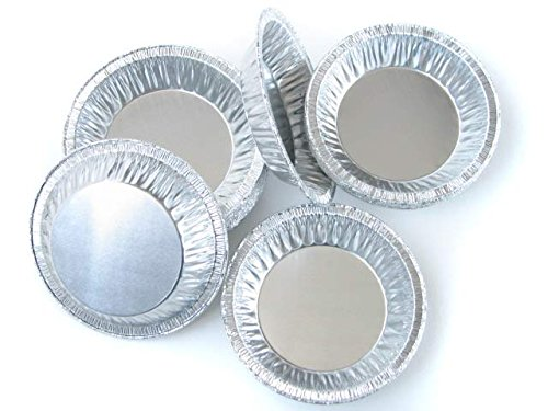4 1/4 '' Shallow Aluminum Disposable Tart Pan #416 (100) by D&W Fine Pack (Image #6)