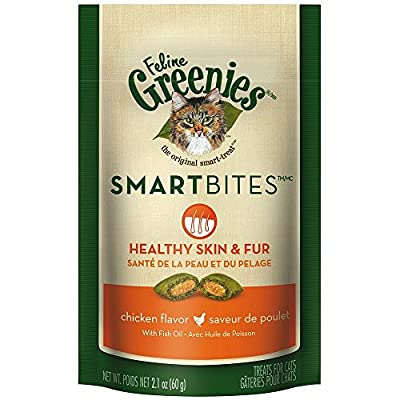 FELINE GREENIES SMARTBITES Cat Treats