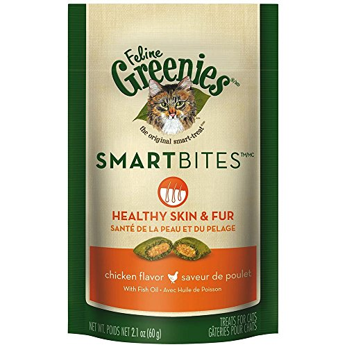 FELINE GREENIES SMARTBITES Cat Treats 51Hz8xeFWkL