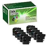 Limeink 10 Pack Compatible LC205XXL LC207XXL Super High Yield Ink Cartridges (4 Black, 2 Cyan, 2 Magenta, 2 Yellow) For MFCJ4320DW MFCJ4620DW MFCJ4420DW Series Printers