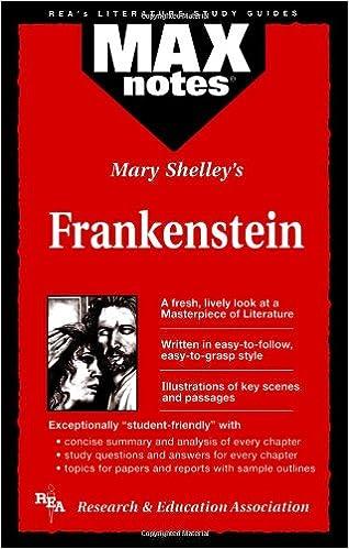 mary shelley frankenstein book summary