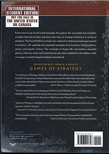 Games of Strategy 4e: Amazon.es: Dixit Avinash K.: Libros en idiomas extranjeros