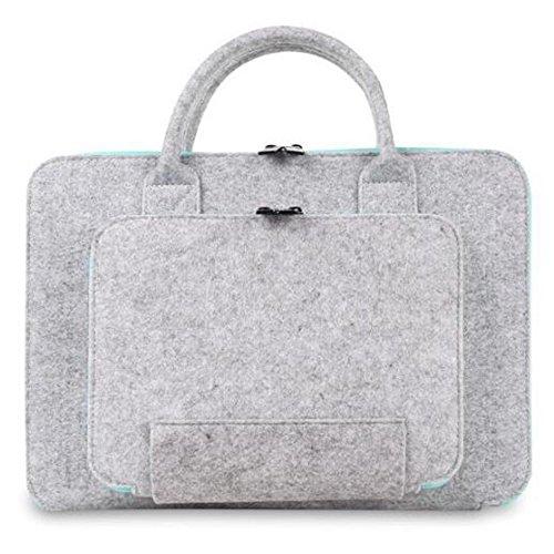 "FineWish 13-13.3 Inch Laptop Sleeve, Portable Slim Retina Ultrabook Notebook Carrying Case Handbag for Apple Macbook Pro 13.3 inch (2016 Released), Macbook Air 13.3"", White"
