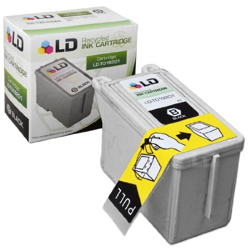 LD Remanufactured Ink Cartridge Replacement for Epson T019 T019201 (Black)]()