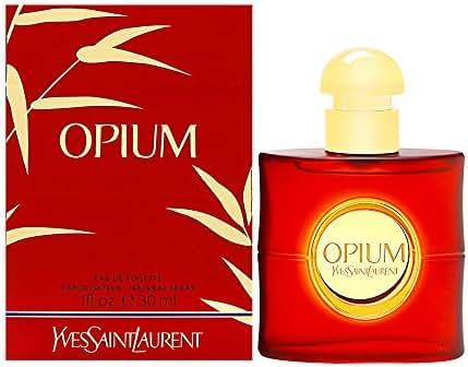 Opium By Yves Saint Laurent For Women. Eau De Toilette Spray 1 Ounces