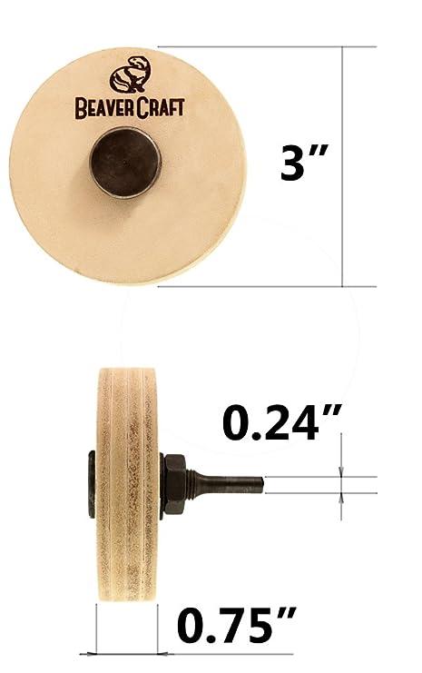 Amazon.com: Power Asentador de piel rueda de pulido ...