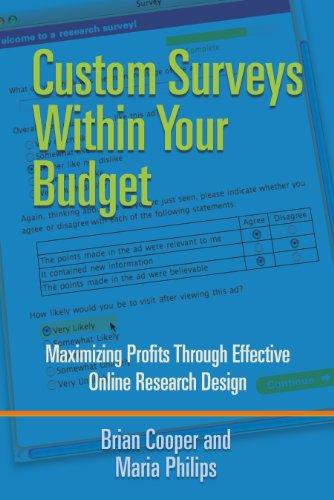 Custom Surveys Within Your Budget: Maximizing Profits Through Effective Online Research Design (English Edition)