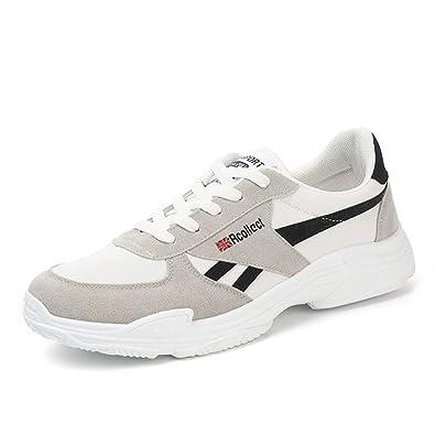 b647bdf1f667c Amazon.com | MINIKATA Mens Air Cushion Walking Running Shoes Casual ...