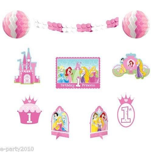 Amscan - Disney 1st Birthday Princess Room Decorating Kit, M