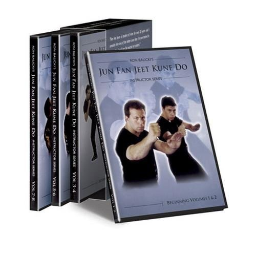 Cold Steel VDJKD Ron Balicki's Jun Fan Jeet Kune Do DVDs by Cold Steel
