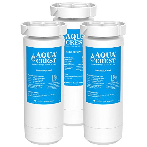 AQUACREST NSF Certified XWF Refrigerator Water Filter, Compatible with GE XWF, GE Refrigerator Models Starting with…