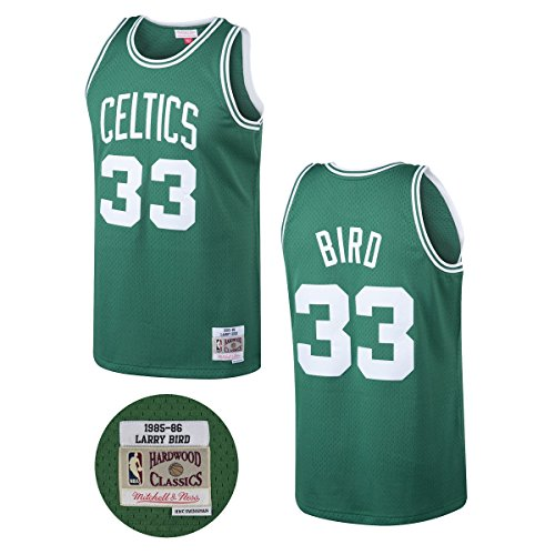Larry Bird Boston Celtics Mitchell and Ness Men's Green Throwback Jesey Large - Paul Pierce Youth Jersey