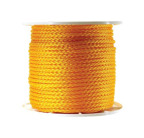 Wellington Rope Yel Hb Poly 3/8X500 Case Of 500, Wellington