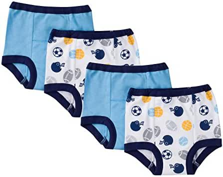 Gerber Little Boys' 4 Pack Training Pant