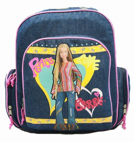 Barbie Backpack Full Size School
