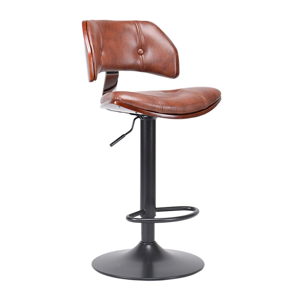 Amazon Com Chairs Bar Stool Swivel Retro European Barstool Counter