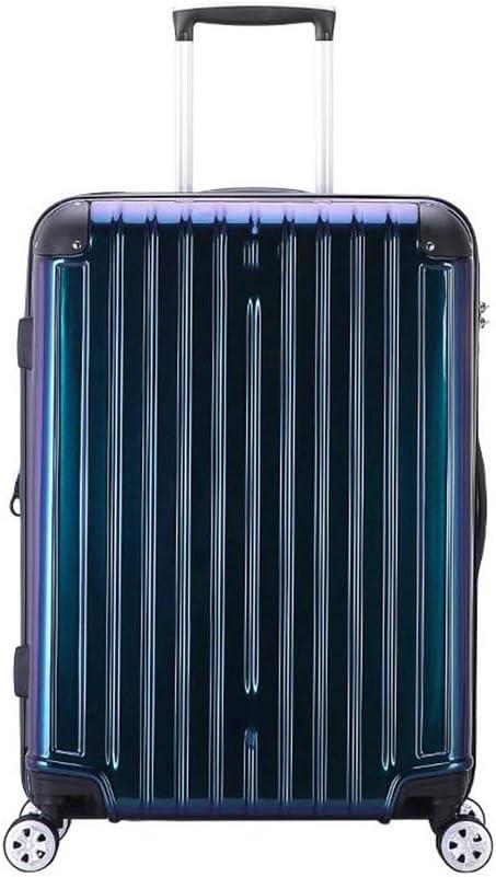 Qzny Suitcase Color : B, Size : 462763.5cm Trolley Case Travel Bag New Lady Suitcase Waterproof Large Capacity Womens Suitcase Men Luggage Hardshell Ultra Light Holiday Business