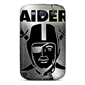 Snap-on Cases Designed For Galaxy S3- Oakland Raiders