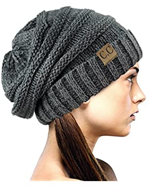Oversized Baggy Slouchy Thick Winter Beanie Hat