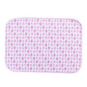 Fairy Baby Baby Changing Diaper Pad Waterproof Mat Natural Packing of 1(Pink Elephant,50X70cm)