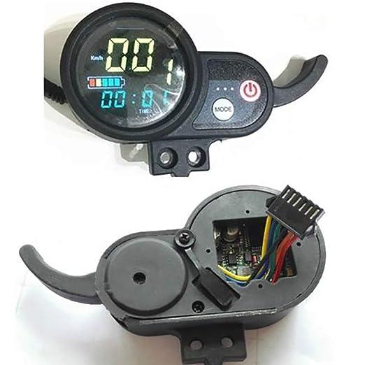Yooha - Medidor Acelerador de Voltaje Digital para Patinete ...