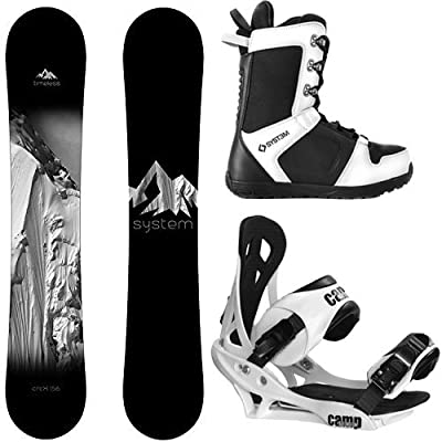 System Timeless and Summit Men's Snowboard Package
