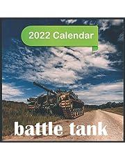 Battle Tank Calendar 2022: Mini Calendar Battle Tank ,12 Month Calendar ,Square 2022 Calendar ,Tanks of the World Calendar
