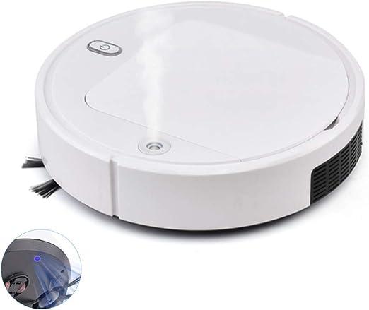 pedkit Robot Aspirador y Fregasuelos 4 en 1, Esterilización con luz UV Limpieza Automática Sensor Especial Mascotas, para Suelos Duros y Alfombras: Amazon.es: Hogar