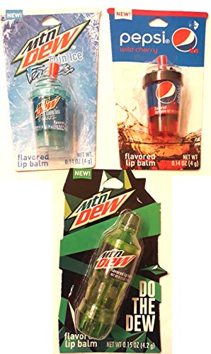 Pepsi and MTN Dew Flavored Lip Balm (Flavored Pepsi)