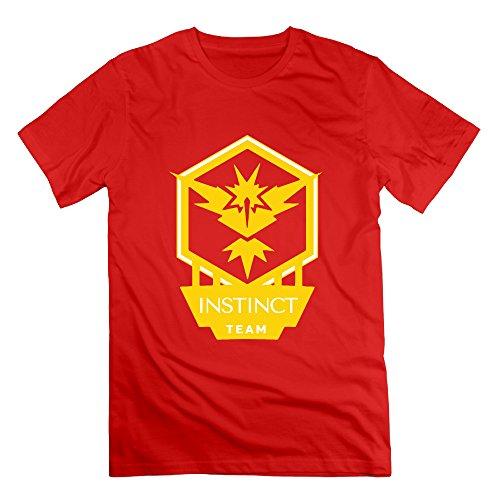 Team Mystic Cutout Red Men's Sport Shirt For Boyfriend Size 3X