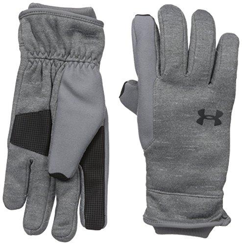 Under Armour Men's Elements 3.0 Gloves, Graphite (040)/Black, Large
