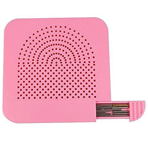 Wuudi quilling bordo rosa griglia avvolgitore roll Square DIY strumento quilling elettrica per scrapbooking con perni