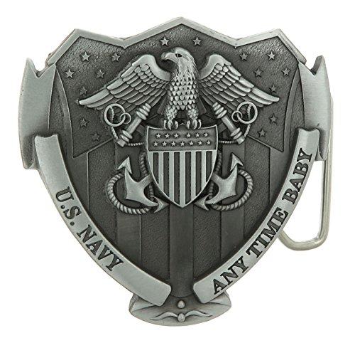 U.S. Navy USN Military Belt Buckle (Navy Belt Buckle)